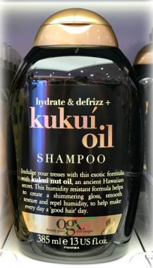 OGX Hydrate Defrizz Kukuí Oil Shampoo