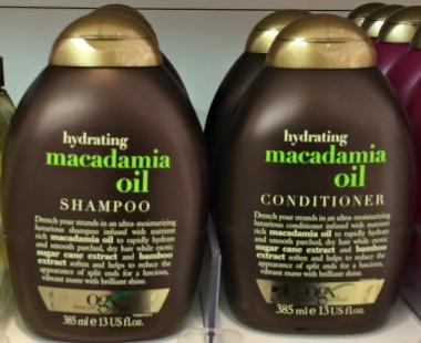 Organix Hydrating Macadamia Oil Shampoo test