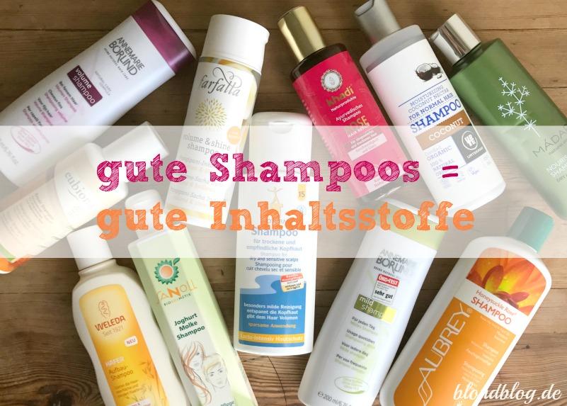 gute shampoos ohne silikone