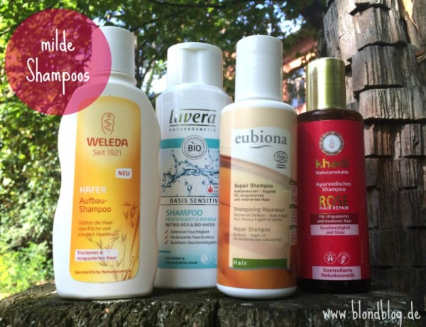 mildes shampoos ohne silikone
