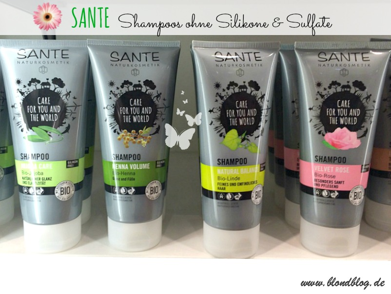 sante shampoo bio vegan sulfatfrei besser naturkosmetik anti aging gesichts le. Black Bedroom Furniture Sets. Home Design Ideas