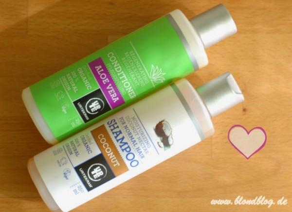 urtekram kokos shampoo test milde reinigung toller duft naturkosmetik anti aging. Black Bedroom Furniture Sets. Home Design Ideas