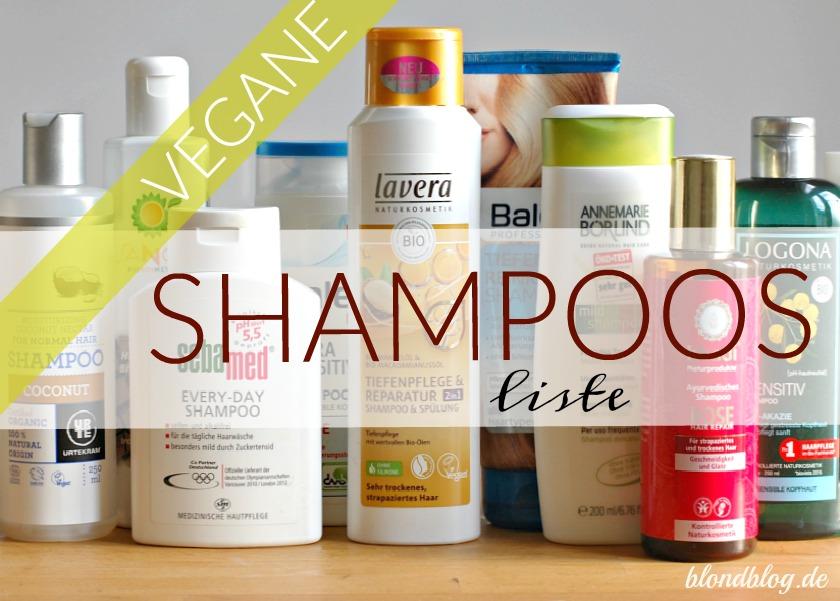 veganes shampoo liste bio drogerie shampoos naturkosmetik